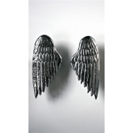 angel wing designer door pull handle