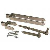 131h heavy fieldgate hinge set