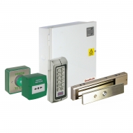 akt4227 single door keypad access control kit