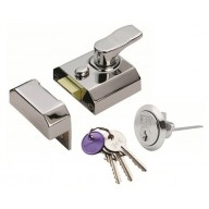rcn8240 contract rim cylinder nightlatch 40mm 3 keyed