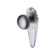 br1800 broadway knob furniture satin chrome