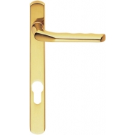 m86np92 straight narrow plate pvc door handles