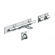 heavy duty cross pattern door bolt