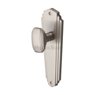 cha1900 charlston knob furniture satin nickel