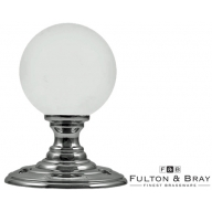 fb302 frosted glass mortice knobs