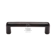 fb331 smooth black iron cabinet pull handle