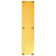 finger plate - polished brass