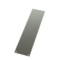 finger plate - stainless steel
