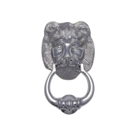 k1210 lions head door knocker