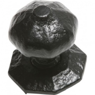 kirkpatrick 3064 black antique centre door knob