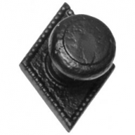 kirkpatrick 3072 black antique centre door knob