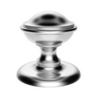 m60 satin chrome centre door knob