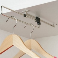 805.01.739 410mm pull out wardrobe rail