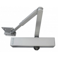 retro 3 size 3 overhead door closer - silver - retro fit to the briton 2003