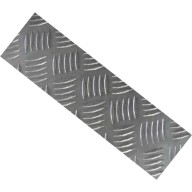 kick plate - saa - chequer plate