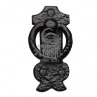 tc458 rustic black iron cabinet pull