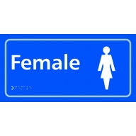 female toilet sign