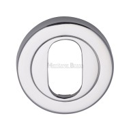 v4010 oval profile escutcheon