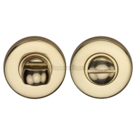 bathroom locks heritage brass turn and release V4049