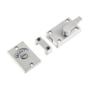zas25ss indicator bolt satin stainless steel