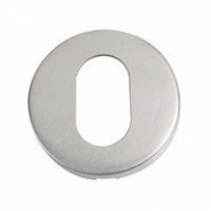 zcs2003 oval profile escutcheon stainless steel
