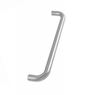 zcs2 bolt fix pull handle - satin stainless steel