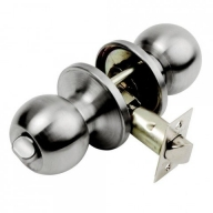 bala door knobset satin stainless steel