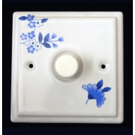 porcelain dimmer switch - verity (complete with electrics)