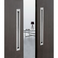 modern rectangular flush pull handle