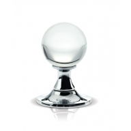 fbc400cp glass mortice knobs (multiple finishes)
