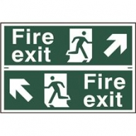 fire exit / running man sign