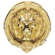 fg8xl large lion head door knocker