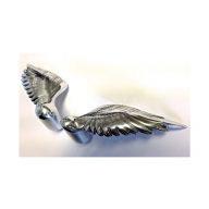 designer mini angel wing cabinet handle