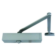 retro 4 size 4 overhead door closer - silver - retro fit to the briton 2004