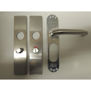 ZCSIP19/ZCS33SS 19mm RTD Lever On Bathroom Backplate 57mm Centres
