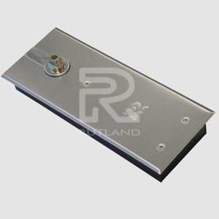 Floor Spring Door Closer - Rutland Door Closer Non Hold Open TS7003
