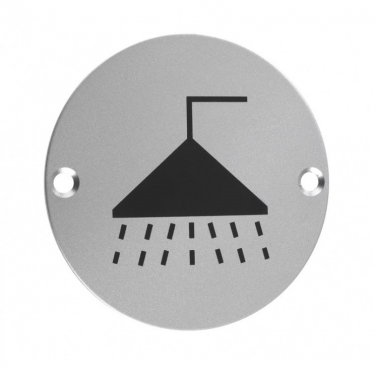ZSA04 76mm Shower Sign SAA