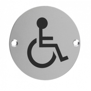 ZSA07 76mm Disabled Pictogram SAA